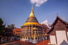Wat Phradhart Lampangluang Стоковые Изображения RF