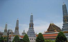 Wat phrakaew av thailand Arkivfoton