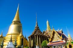 Wat Phrakeaw曼谷泰国 库存图片