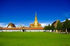 Wat Phrakeaw Bangkok Thailand Photographie stock