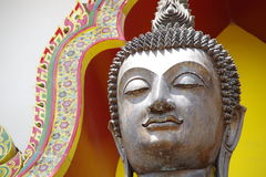 Wat Phraphutthachai ฺBuddha雕象  免版税库存照片