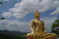 Wat Phraphutthachai ฺBuddha雕象  免版税图库摄影