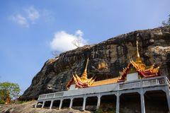 Wat Phraputtachai, thailändischer Tempel stockfoto