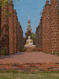 Wat Phrasisanpetch en parc historique d'Ayutthaya, Thaïlande images libres de droits