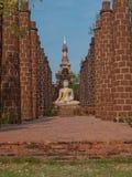 Wat Phrasisanpetch i historiska Ayutthaya parkerar, Thailand Royaltyfria Bilder