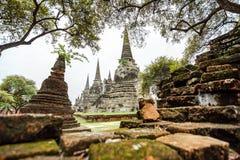 Wat Phrasisanpetch w Ayutthaya prowinci, Tajlandia Zdjęcia Royalty Free