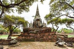 Wat Phrasisanpetch w Ayutthaya prowinci, Tajlandia Zdjęcie Royalty Free