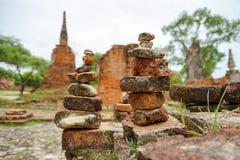 Wat Phrasisanpetch w Ayutthaya prowinci, Tajlandia Obrazy Stock