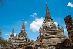 Wat Phrasisanpeth (δημόσια θέση), ναός Phrasrisanpeth Στοκ Φωτογραφία