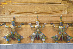 Wat Phrasrirattana Sasadaram de Tempel van Eme Royalty-vrije Stock Fotografie