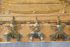 Wat Phrasrirattana Sasadaram le temple de l'Eme Photographie stock libre de droits