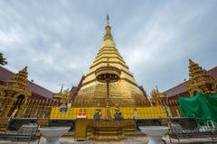 Wat Phratat Chor Hae Temple, important symbolic place of Phrae P. Rovine, Thailand royalty free stock photography