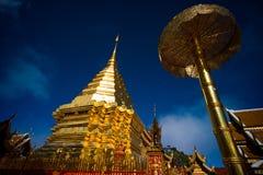 Wat Phratat Doi Suthep Fotografia Stock Libera da Diritti