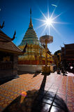 Wat Phratat Doi Suthep Stock Images