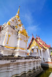 Wat Phrathat Chaiya Worawihan, Public ancient temple ,Surat Than Stock Photos