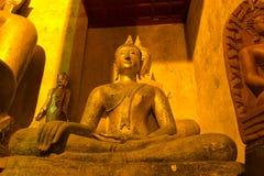 Wat Phrathat Chang Kham, Nan, Thailand Stock Afbeelding