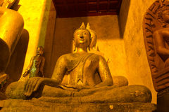 Wat Phrathat Chang Kham , Nan,Thailand Stock Image
