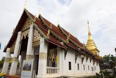 Wat Phrathat Chang Kham Worawihan Stock Photography