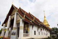 Wat Phrathat Chang Kham Worawihan Stock Photography