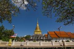 Wat Phrathat Chang Kham Worawihan in Nan, Thailand Royalty-vrije Stock Foto