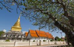 Wat Phrathat Chang Kham Worawihan at Nan, Thailand Royalty Free Stock Photo