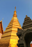 Wat Phrathat Chohae,帕府 免版税库存照片