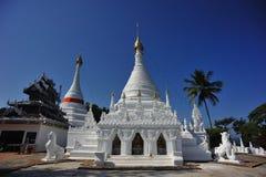 Wat Phrathat Doi Gongmoo, Mae Hong Son, Thailand. Wat Phrathat Doi Gongmoo, Thailand Stock Photo