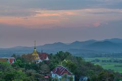 Wat Phrathat Doi Saket is an ancient Buddhist temple. Wat Phrathat Doi Saket is an ancient Buddhist temple near Chiang Mai that carries on the tradition of Stock Images