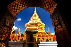 Wat Phrathat Doi Suthep Images stock