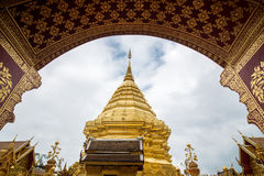 Wat Phrathat Doi Suthep Imagen de archivo