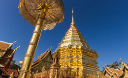 Wat Phrathat Doi Suthep Photographie stock libre de droits