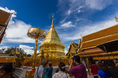 Wat Phrathat Doi Suthep Photographie stock