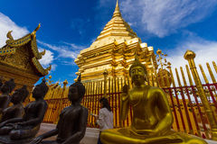 Wat Phrathat Doi Suthep Stockfotos