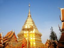 Wat Phrathat Doi Suthep Fotografie Stock