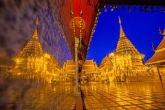 Wat Phrathat Doi Suthep Foto de archivo