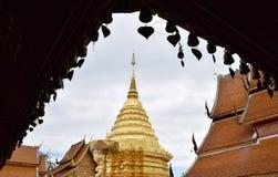Wat Phrathat Doi Suthep Imagenes de archivo