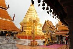 Wat Phrathat Doi Suthep, Chiang Mai Foto de archivo