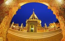 Wat Phrathat Doi Suthep, Chiang Mai, Tailandia Fotografie Stock