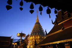 Wat Phrathat Doi Suthep Chiangmai Zdjęcia Stock