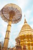 Wat Phrathat Doi Suthep em Tailândia Imagens de Stock
