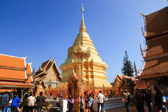 Wat Phrathat Doi Suthep Royalty Free Stock Image