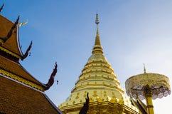 Wat Phrathat Doi Suthep på Chiangmai, Thailand Fotografering för Bildbyråer