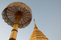 Wat Phrathat Doi Suthep Tempel Lizenzfreie Stockfotografie