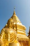 Wat Phrathat Doi Suthep-tempel in Chiang Mai, Thailand Stock Afbeelding