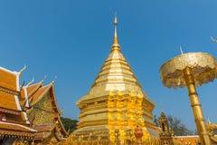 Wat Phrathat Doi Suthep-tempel in Chiang Mai, Thailand Royalty-vrije Stock Foto