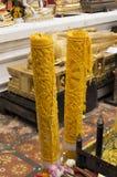 Wat Phrathat Doi Suthep The-Tempel gekennzeichnet häufig als Lizenzfreies Stockbild