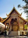 Wat Phrathat Doi Suthep tempel i Chiang Mai, Thailand arkivfoton