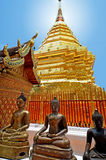 Wat Phrathat Doi Suthep temple Stock Image