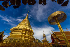 Wat Phrathat Doi Suthep. Temple In Chiang Mai Stock Images