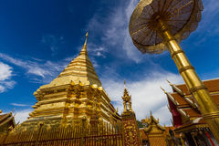 Wat Phrathat Doi Suthep. Temple In Chiang Mai Royalty Free Stock Image